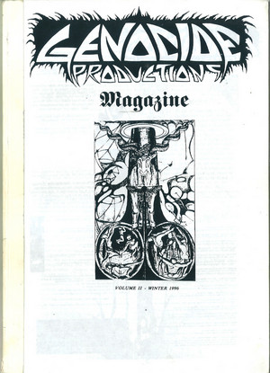 Genocide Productions Magazine 1996